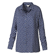 Buy Fat Face Utility Star Shirt, Dark Chambray Online at johnlewis.com