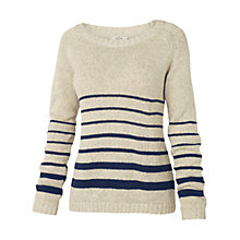 Buy Fat Face Banbury Wrap Jumper, Ivory Online at johnlewis.com
