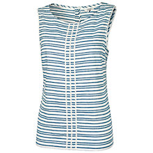 Buy Fat Face Eden Stripe Cami, Ivory Online at johnlewis.com
