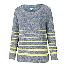 Buy Fat Face Banbury Wrap Jumper, Navy Online at johnlewis.com
