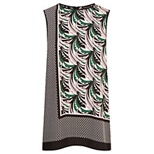 Buy Warehouse Leaf Print Top, Multi Online at johnlewis.com