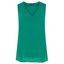 Buy Warehouse V-Neck Shell Top Online at johnlewis.com