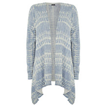 Buy Mint Velvet Organic Cotton Cardigan, Blue Aegean Online at johnlewis.com