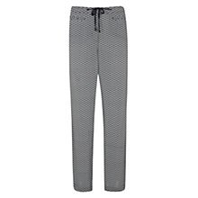 Buy Mint Velvet Tonya Print Trousers, Grey Online at johnlewis.com