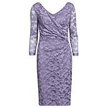 Buy Gina Bacconi Stretch Lace Sequin Dress, Lavendar Haze Online at johnlewis.com