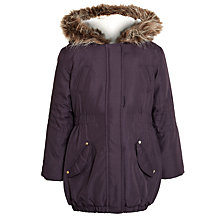 Buy John Lewis Girl Parka With Faux Fur Online at johnlewis.com