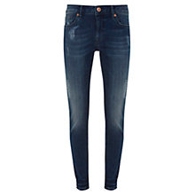 Buy Mint Velvet Delaware Jeans, Mid Indigo Online at johnlewis.com