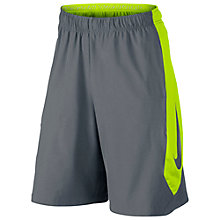 Buy Nike Hyperspeed Woven Shorts, Cool Grey Online at johnlewis.com