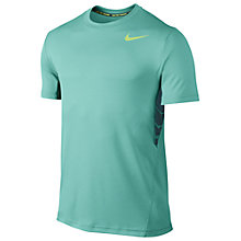 Buy Nike Vapor Dri-FIT T-Shirt, Blue Online at johnlewis.com