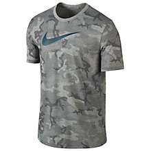 Buy Nike Diamond Camo Training T-Shirt Online at johnlewis.com