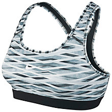 Buy Nike Pro Classic Criss Cross Sports Bra, Blue Graphite/Black Online at johnlewis.com
