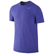 Buy Nike Dri-FIT Touch Heathered Short Sleeve T-Shirt Online at johnlewis.com