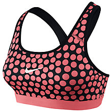 Buy Nike Pro Classic Dot Print Sports Bra Online at johnlewis.com