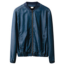 Buy East Bomber Jacket, Indigo Online at johnlewis.com