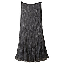 Buy East Lace Pleat Skirt, Slate Online at johnlewis.com