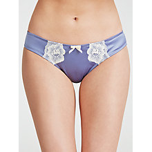 Buy COLLECTION by John Lewis Louisa Briefs, Dusk Blue Online at johnlewis.com