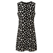 Buy Adrianna Papell Embroidered Flower Dress,  Black/Ivory Online at johnlewis.com