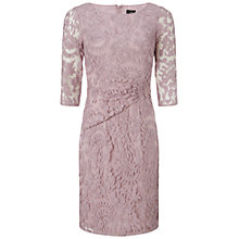Buy Adrianna Papell Lace Overlay Sheath Dress, Shell Online at johnlewis.com