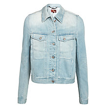 Buy 7 For All Mankind Trucker Jacket, Arizona Blue Online at johnlewis.com