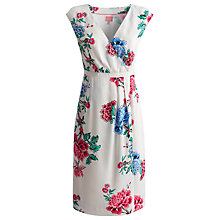 Buy Joules Helena Dress, Bright White Floral Online at johnlewis.com