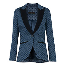 Buy Closet Floral Blazer, Navy Online at johnlewis.com