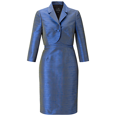 Adrianna Papell Dress With Jacket, Sapphire/Black