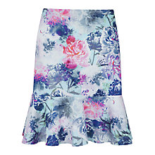 Buy Closet Peplum Floral Mini Skirt, Multi Online at johnlewis.com