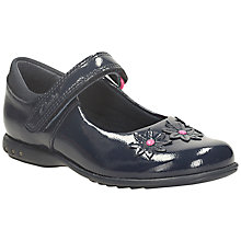 Buy Clarks Trixi Beth Patent Leather Shoes, Navy Online at johnlewis.com