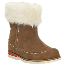 Buy Clarks Dabi Petal Suede Boots, Tan Online at johnlewis.com