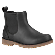 Buy UGG Callum Leather Chelsea Boots, Black Online at johnlewis.com