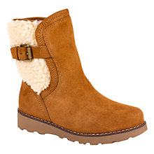 Buy UGG Children's Jayla Suede Ankle Boots, Chestnut Online at johnlewis.com
