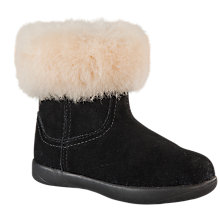 Buy UGG Jorie Suede Ankle Boots, Black Online at johnlewis.com