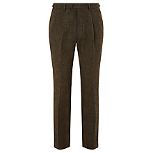 Buy JOHN LEWIS & Co. Bennett Donegal Wool Tailored Suit Trousers, Sepia Online at johnlewis.com