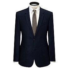 Buy JOHN LEWIS & Co. Chadwick Wool Flannel Tailored Suit Jacket, Navy Online at johnlewis.com