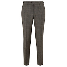 Buy JOHN LEWIS & Co. Hanbury Milled Prince of Wales Check Suit Trousers, Biscuit Online at johnlewis.com