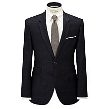 Buy JOHN LEWIS & Co. Mini Overcheck Tailored Suit Jacket, Navy Online at johnlewis.com