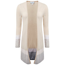 Buy Pure Collection Gassato Cashmere Longline Cardigan Online at johnlewis.com