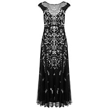 Buy Miss Selfridge Premium Collection Fran Maxi Dress, Black Online at johnlewis.com