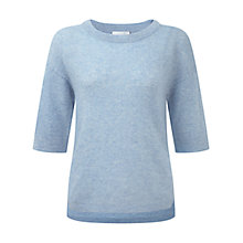 Buy Pure Collection Gassato Cashmere Boat Neck Sweater Online at johnlewis.com