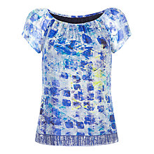 Buy Damsel in a dress Print Lucite Top Online at johnlewis.com