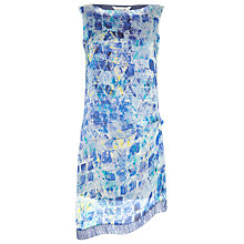 Buy Damsel in a dress Print Lucite Dress, Blue Online at johnlewis.com