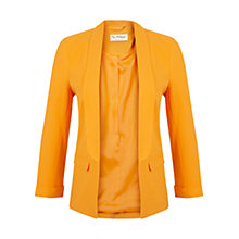 Buy Miss Selfridge Crepe Jacket, Orange Online at johnlewis.com