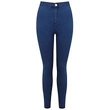 Buy Miss Selfridge Petite Steffi Jeans, Blue Online at johnlewis.com