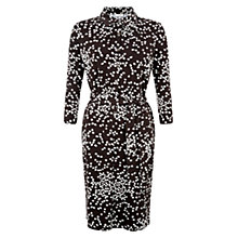 Buy Hobbs Anna Shirt Dress, Choc/Ivory Online at johnlewis.com