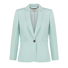 Buy Hobbs Daniella Jacket, Eau De Nil Online at johnlewis.com