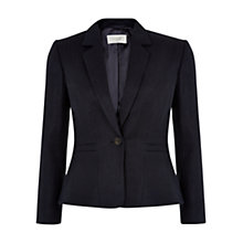 Buy Hobbs Analise Jacket, Navy Online at johnlewis.com