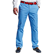 Buy Thomas Pink Voltaire Chinos, Pale Blue Online at johnlewis.com