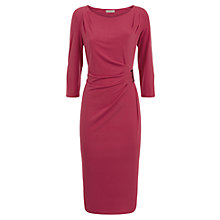 Buy Planet Buckle Dress, Cerise Online at johnlewis.com