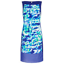 Buy Damsel in a dress Cascade Silk Dress, Blue Online at johnlewis.com