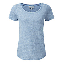 Buy Pure Collection Luxury Linen T-Shirt Online at johnlewis.com